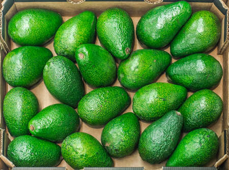 provisions: avocados Stock Photo