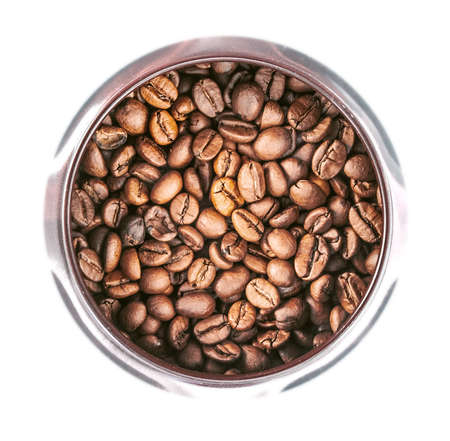 dry provisions: coffee beans