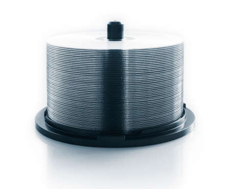 gigabytes: stack of CD