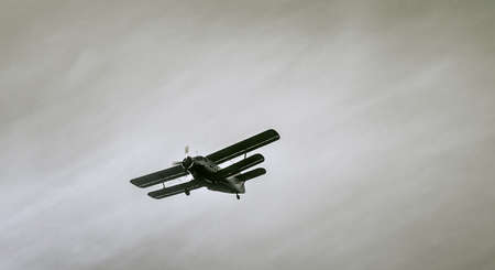 rickety: biplane Stock Photo