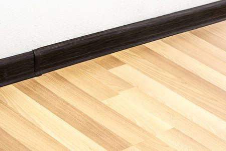 skirting: details of home interior Stock Photo