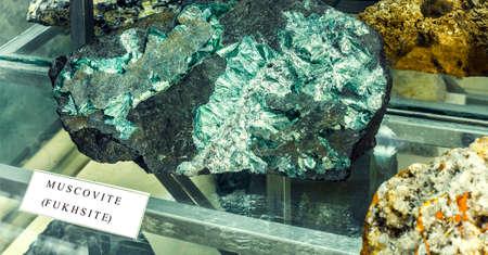 mineralogy: the muskovite fukhsite