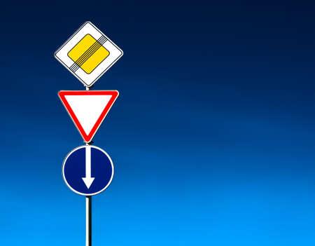 Conceptual roadsign