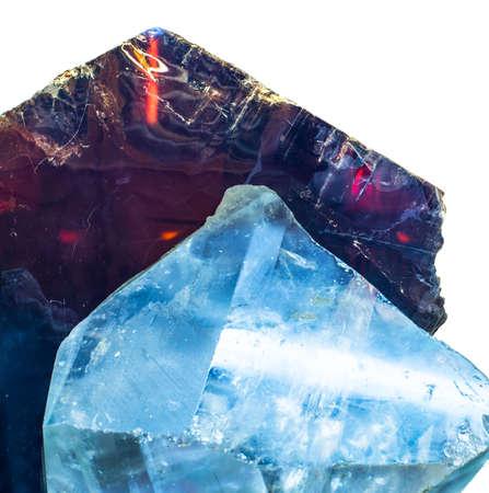 showpiece: precious gemstones