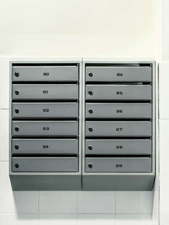 indexed: onwall mailboxes