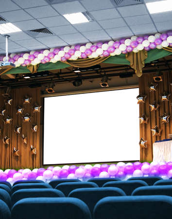 convention: festive conference hall