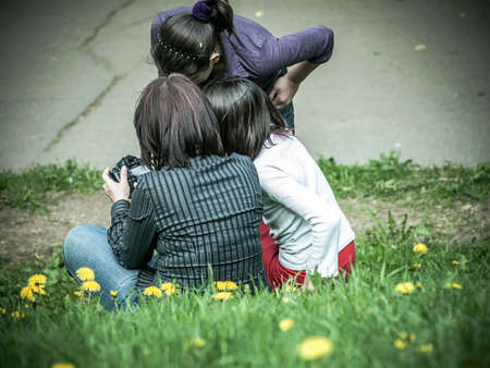 urban parenting: family photographing