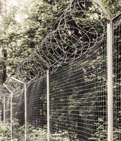 barblock: blockaded zone