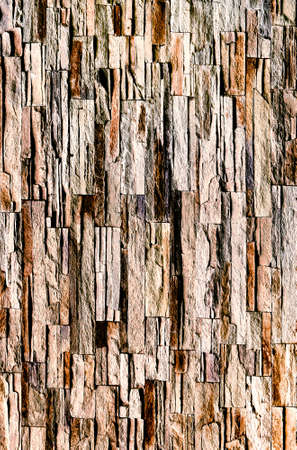 walling: weathered brownstone