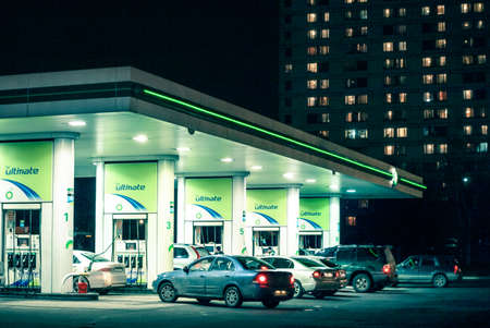 Russia 2010; Gas station BP