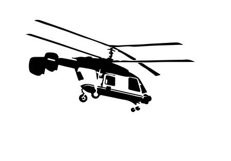 military helicopter: helicopter