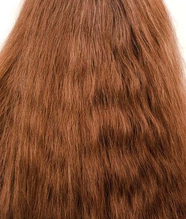textura pelo: pelo espeso femenina
