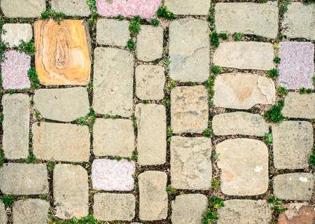 walling: old masonry
