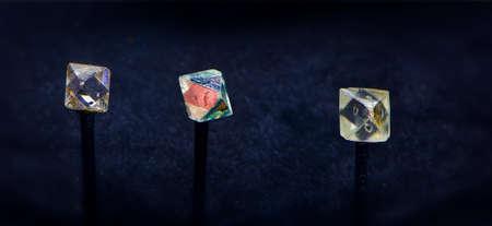 gemology: natural colored Diamonds