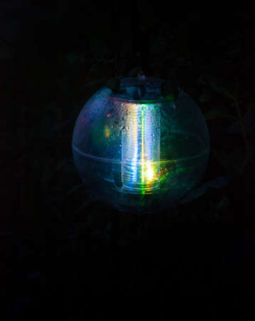 autonomic: autonomic garden lantern Stock Photo