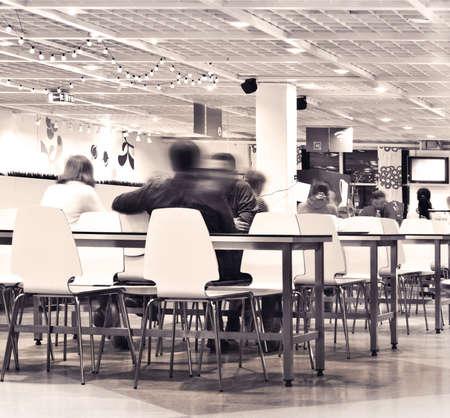 canteen: canteen interior