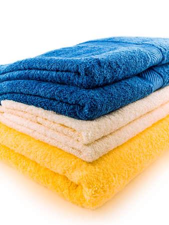 plush: stack of plush towels