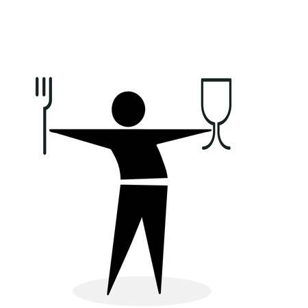 man eater: fastfood symbol