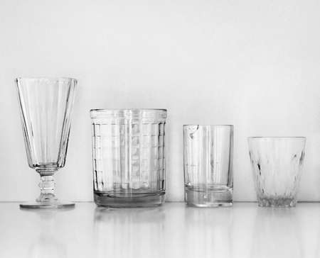glass cup: old wine glasses