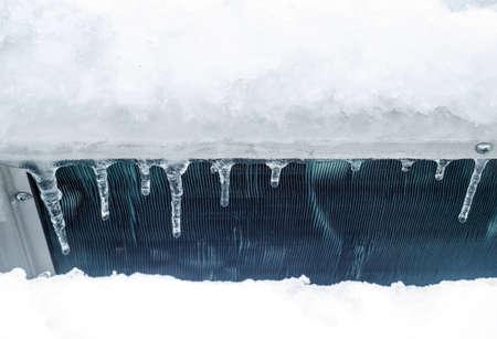 radiador: radiador congelada