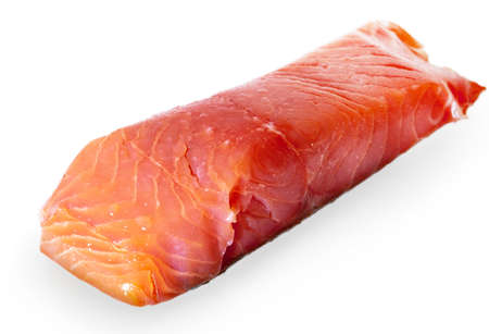 salmon fishery: salmon meat