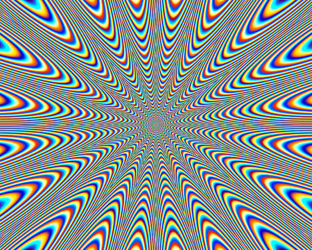 mimicry: digital pattern Stock Photo