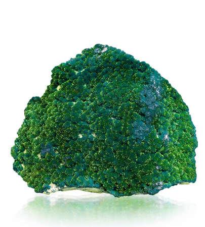 mineralization: green mineral