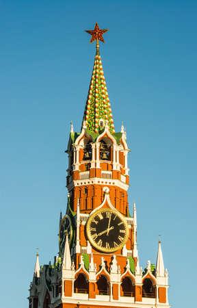 spassky: Spassky tower in Moscow Kremlin