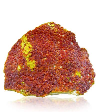 mineralization: the Orpiment (Aurpigmentum)