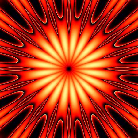abstrakcja: ognisty abstrakcji Zdjęcie Seryjne