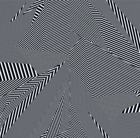 striated: polygonal pattern Stock Photo