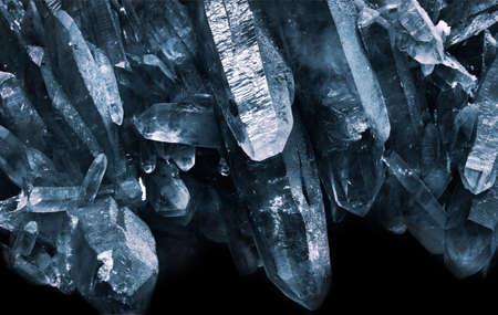mineralization: quartz cave