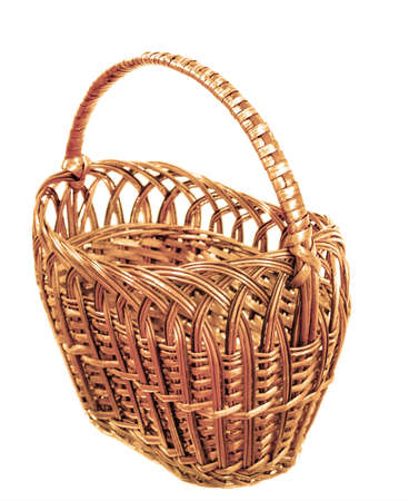 void: vintage woven basket
