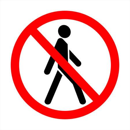 no trespassing! sign
