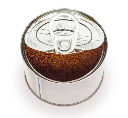 canned goods: instant coffee