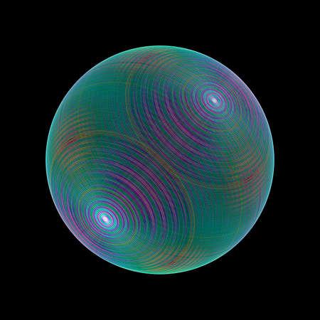 sphere: fractal sphere