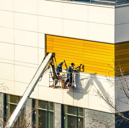 steeplejack: exterior paneling