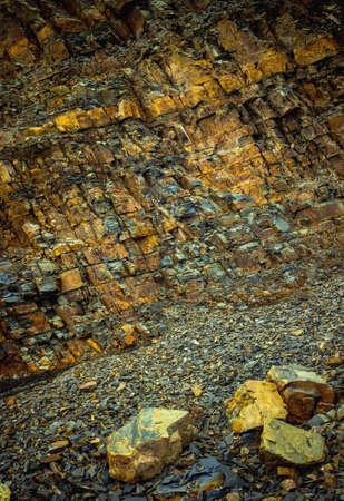 rockslide: rockfall