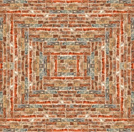 walling: brick pattern