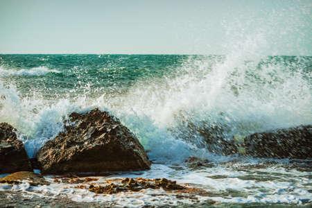 thundering: sea storm