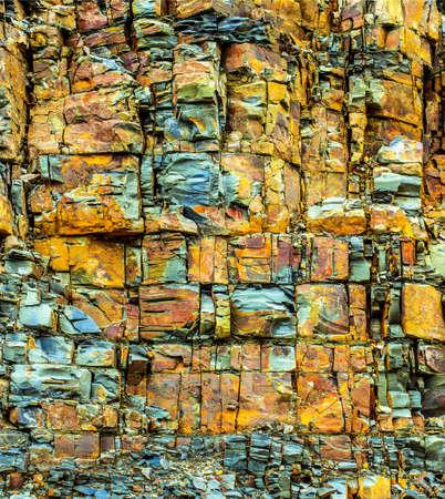 rockslide: old rock material