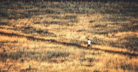 soledad: chamuscado desierto