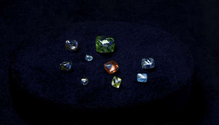 gemology: natural crystals of the Diamond