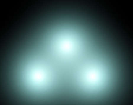 phosphorescence: the glow lights Stock Photo