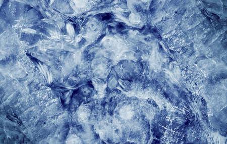 crystallization: glacier