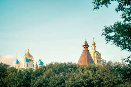 Novospassky monastery in Moscow, Russia