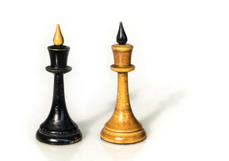 the opposite chess pieces