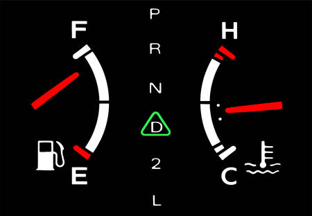 the engine parameters; its all right Illustration