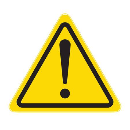 warning sign Hazard!