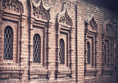 ancient windows; shallow d.o.f. Archivio Fotografico - 116539536